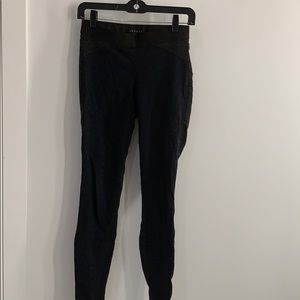 Theory two toned wool-esque legging/pant